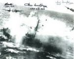 Ted Dunsford & Brian Beattie & Des Curtis (WW2 Pilots) - Genuine Signed Autograph 7761